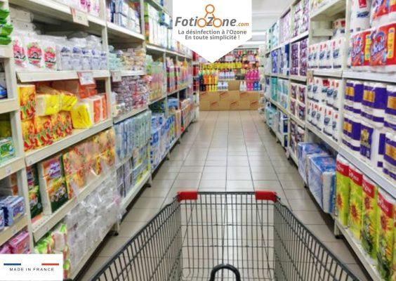 Désinfectez vos achats alimentaires de la COVID-19 , sans rincage