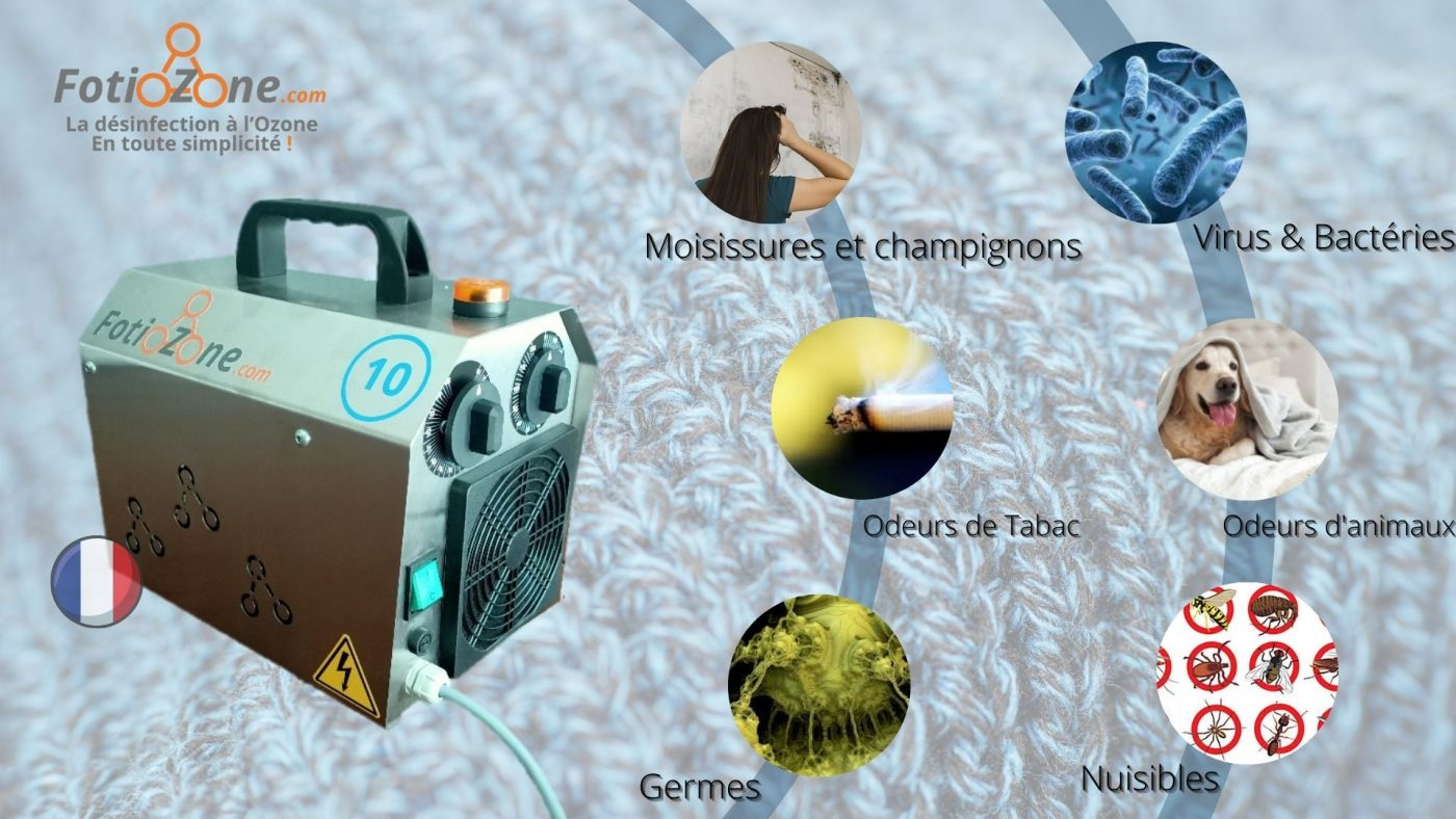 les éléments qui peuvent disparaître grâce à l'ozone