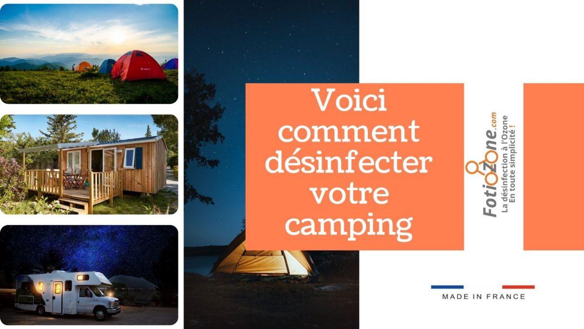 Désinfecter et nettoyer un camping , les astuces